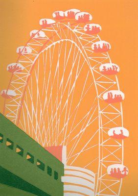 The London Eye (yellow)