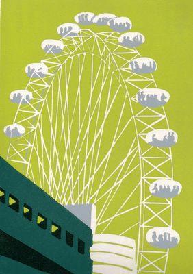 The London Eye (lime)
