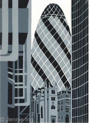 The Gherkin (chrome)