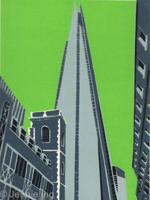 The Shard (lime)
