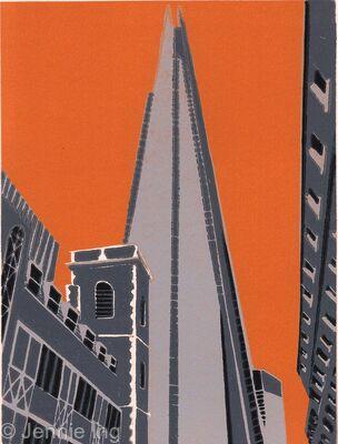 The Shard (orange)