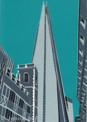 The Shard (teal)