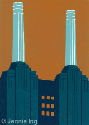 Battersea Power Station (teal)