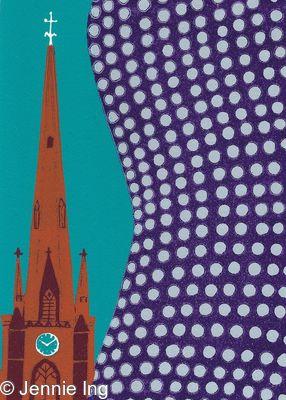 Selfridges with St Martin's Church