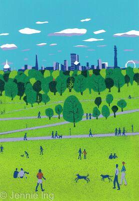 Primrose Hill: The View