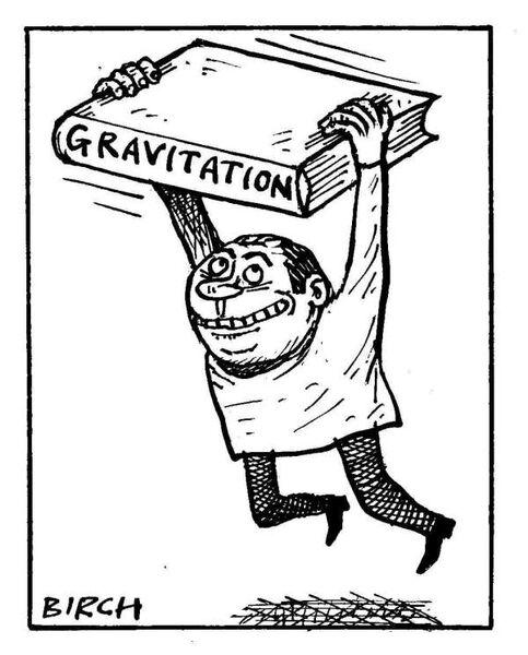 Gravitation (Science cartoons)