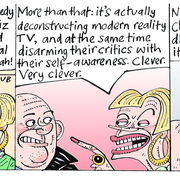 Chutzpah (Media Tarts, The Guardian)