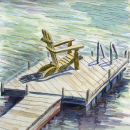 Allyson's dock 17.VIII.09