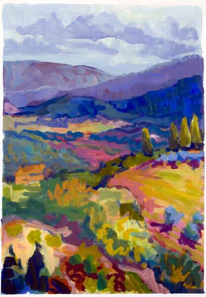 Stormy Day, Bright Hills