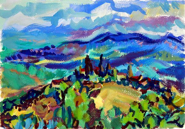 Flowing Hills, Casole D'Elsa