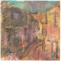 Tuscan Street, Casole D'Elsa