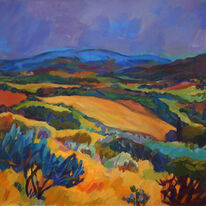 Tuscan Fields, Late Summer