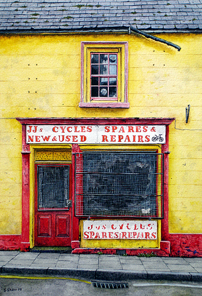 Cycle Shop, Ballycastle