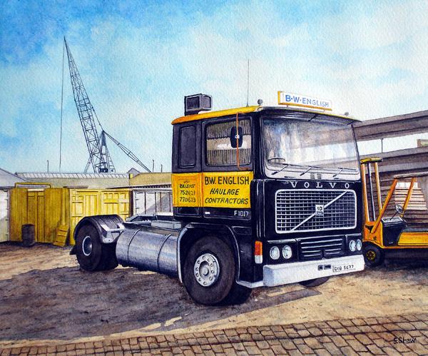 BW English Lorry Cab