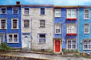 Downtown St.Johns, Newfoundland