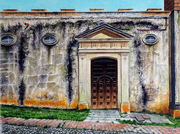 Church Wall, Trinidad, Cuba