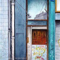 The Door beside The Bookstore