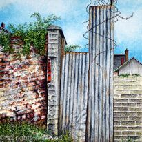 Walls and Weeds and Wire