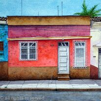 RED HOUSE, Cienfuegos, Cuba