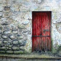 The Door of a Dangerous Building