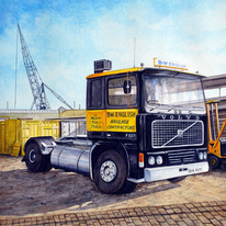 BW English Lorry Cab