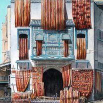 Carpet Shop, Tunisia