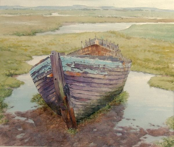 The derelict at Blakeney