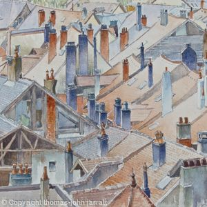 A chaos of Chimneys at Annecy old town