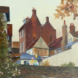 Behind St Andrews Street, Hertford.