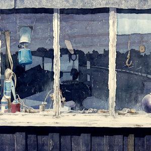 Window at Walberswick 1