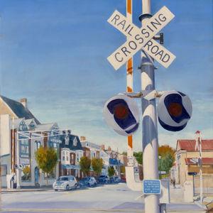 Railroad crossing, Gettysburg Pa