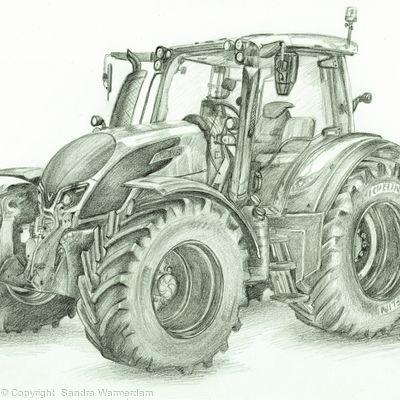 Valtra N174  Drawing