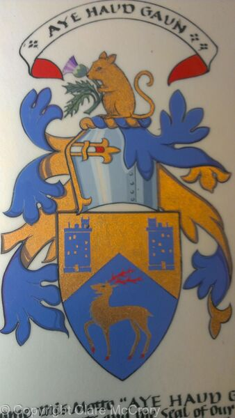 The Armorial Bearings of Roderick George Strachan