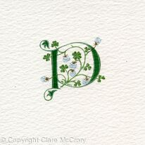 Initial P with white clover