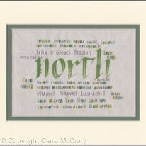 Scottish Calligraphy - Northern Scotland placenames