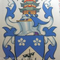 Arms of the Honourable Alexander Andrew MacDonnell Fraser