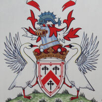 Arms of the Most Honourable David Thomas Kennedy Marquess of Ailsa.