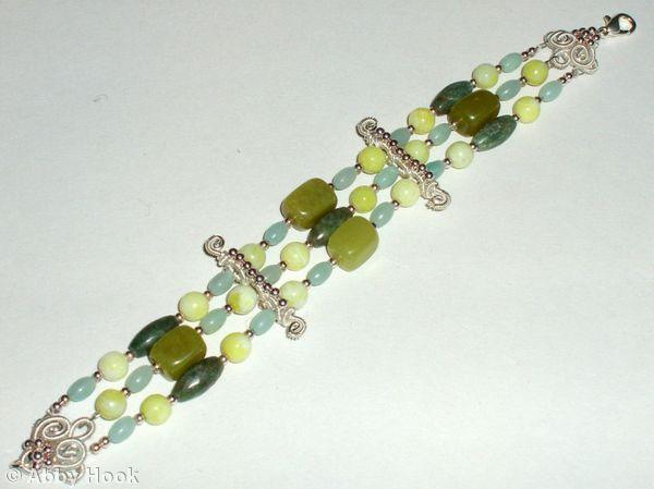 Multi Strand Bracelet tutorial