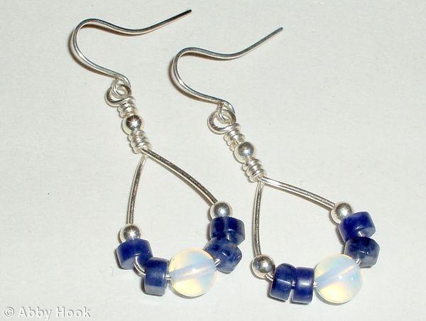 Quick and easy Loop Earrings Tutorial