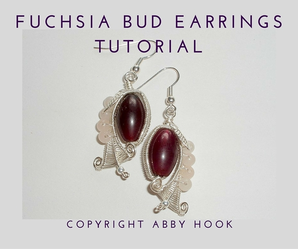 Fuchsia Bud Earrings Tutorial