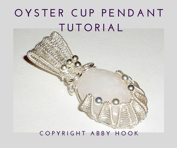 Oyster Cup Pendant Tutorial