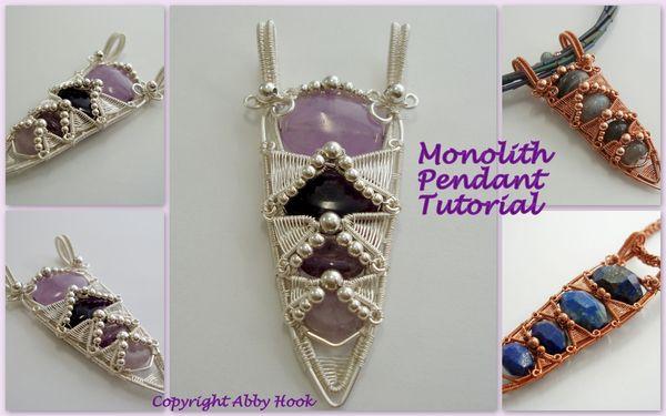Monolith Pendant Tutorial