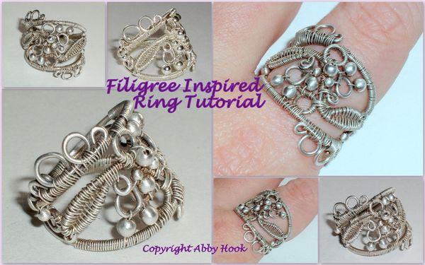Filigree Inspired Ring Tutorial