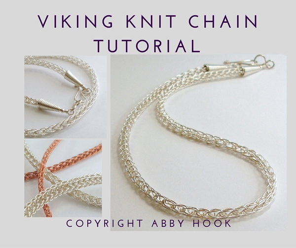 Viking Knit Chain Tutorial