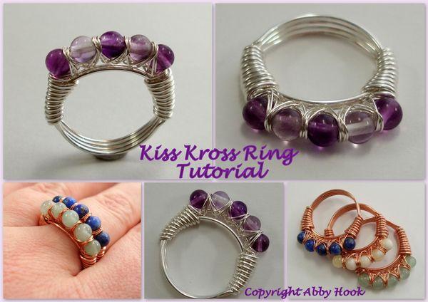 Kiss Kross Ring Tutorial