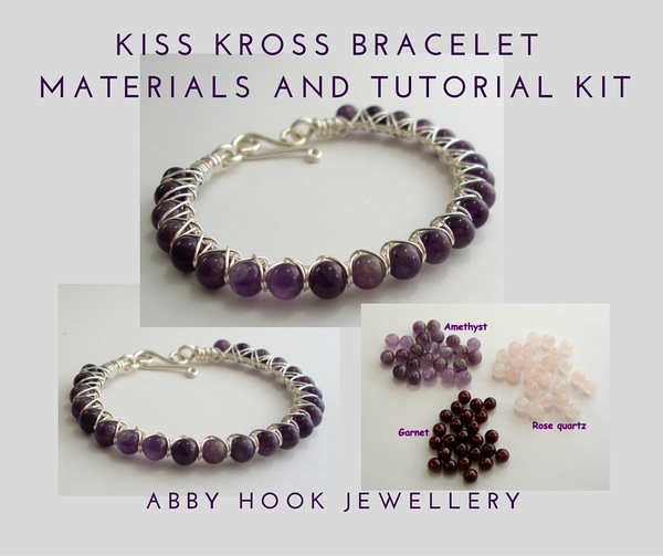 Kiss Kross Bracelet Materials and Tutorial Kit