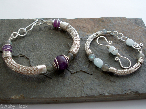 Torcesque - Mother and baby bracelets
