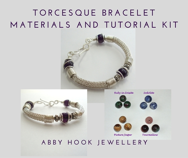 Torcesque Bracelet Materials and Tutorial Kit