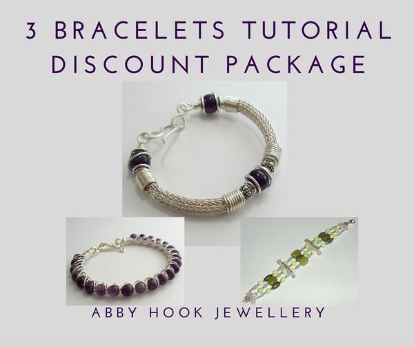 3 Bracelets Tutorial Discount Package - 5 Tutorials