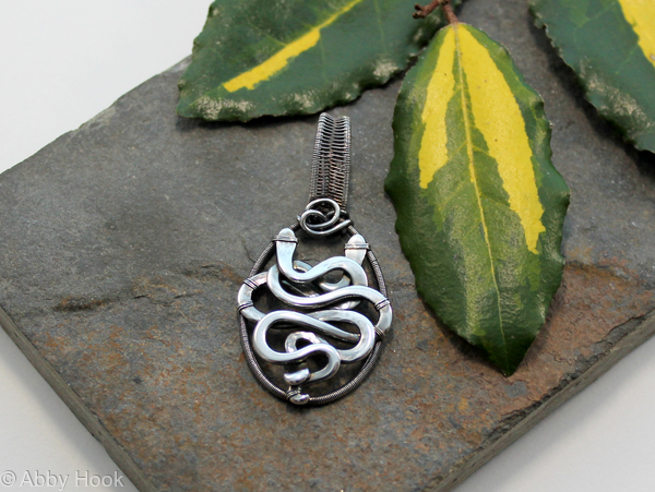 Entwined Snakes Pendant